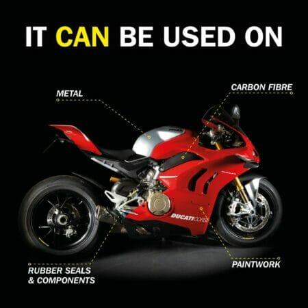 Motorbike Silicone Shine