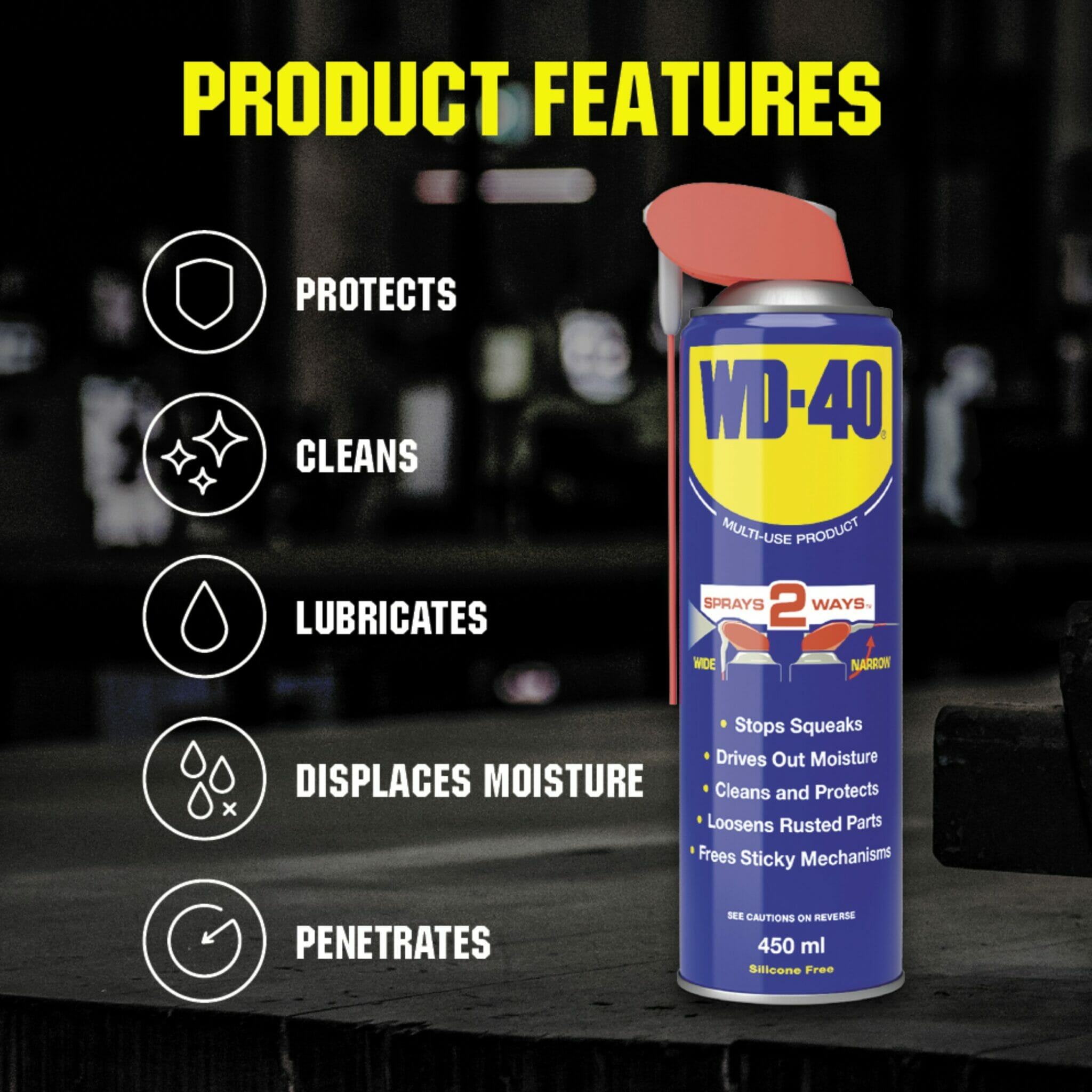 uk wd40 mup smart straw 450ml product features lifestyle background