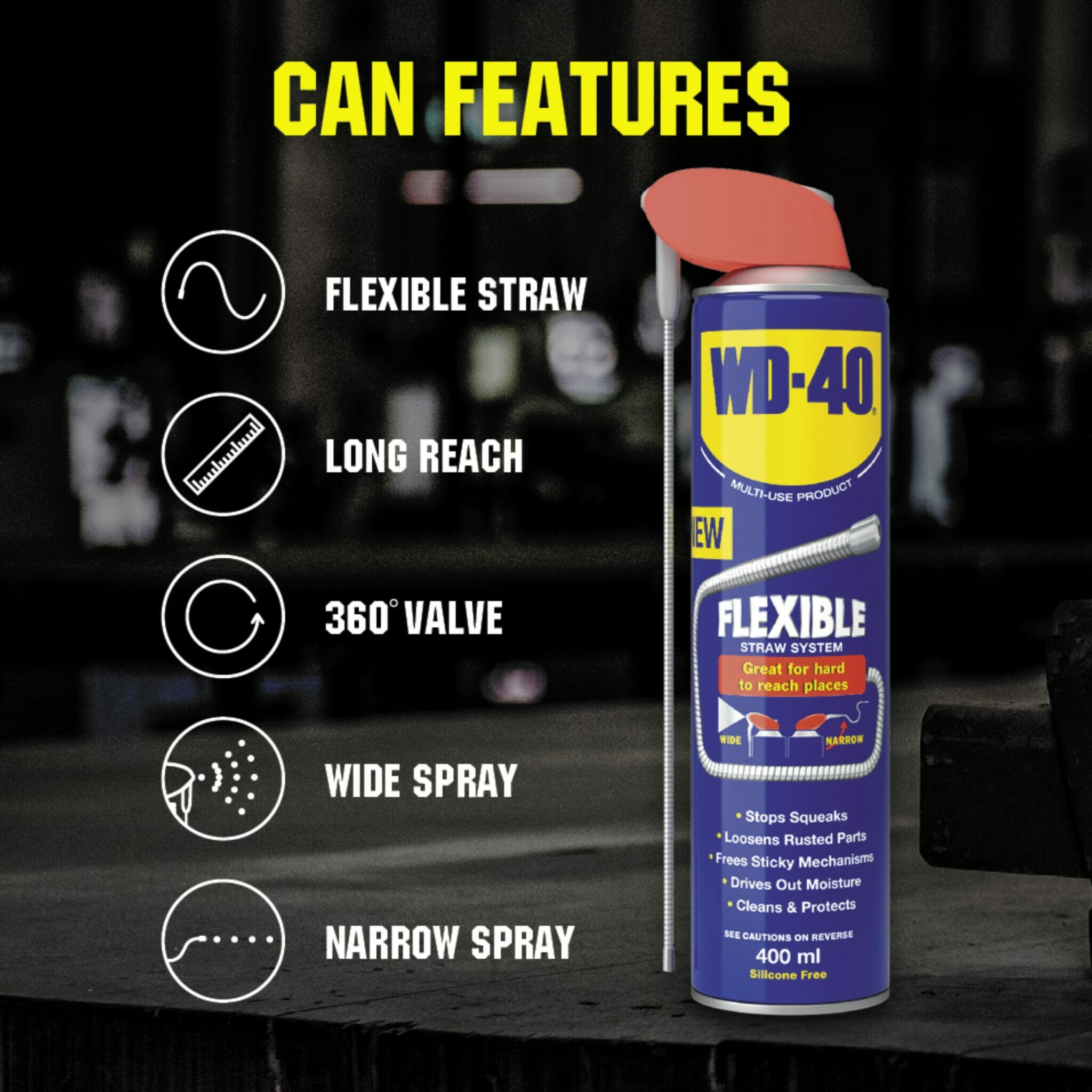 uk wd40 mup flexible straw 400ml can features lifestyle background
