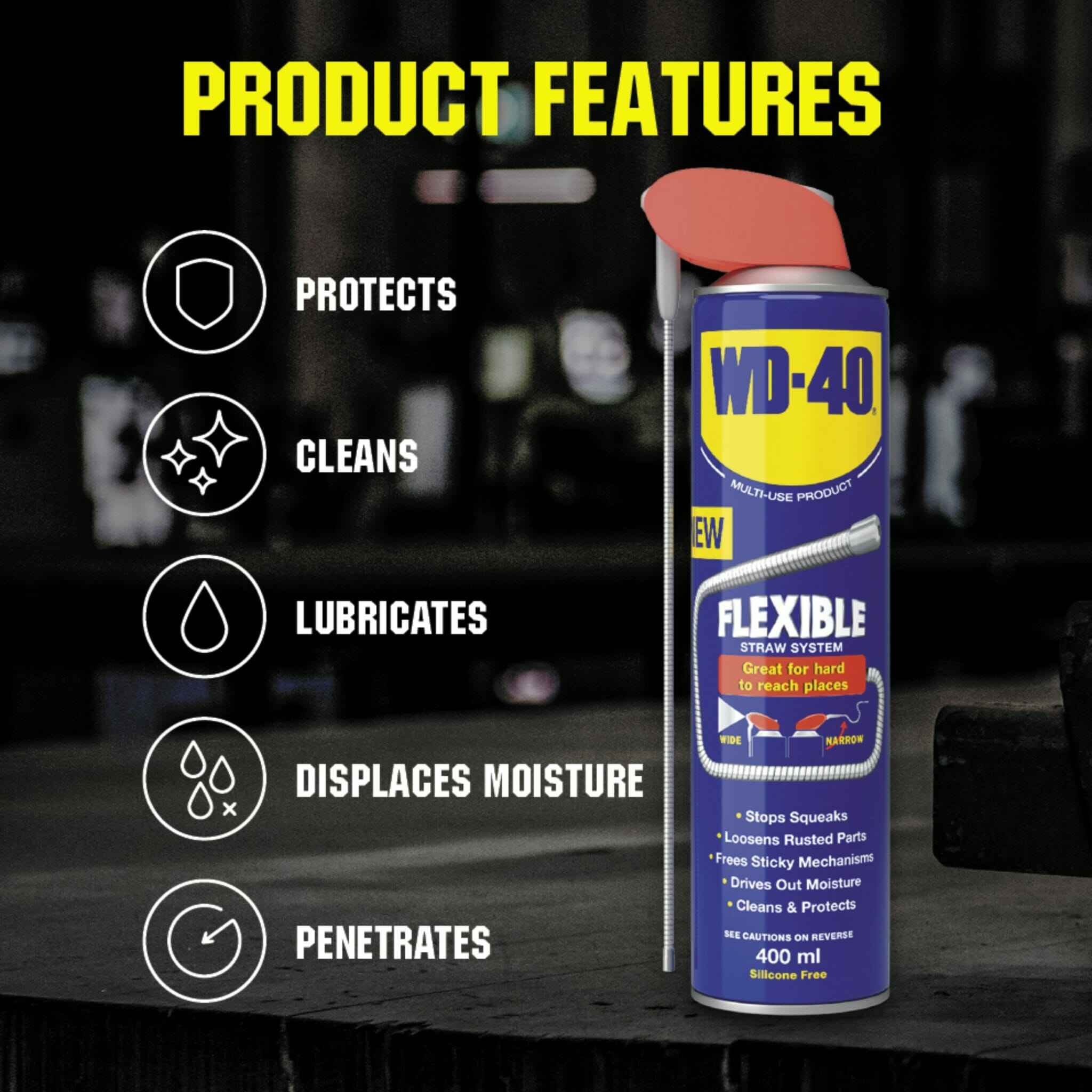 uk wd40 mup flexible straw 400ml product features lifestyle background