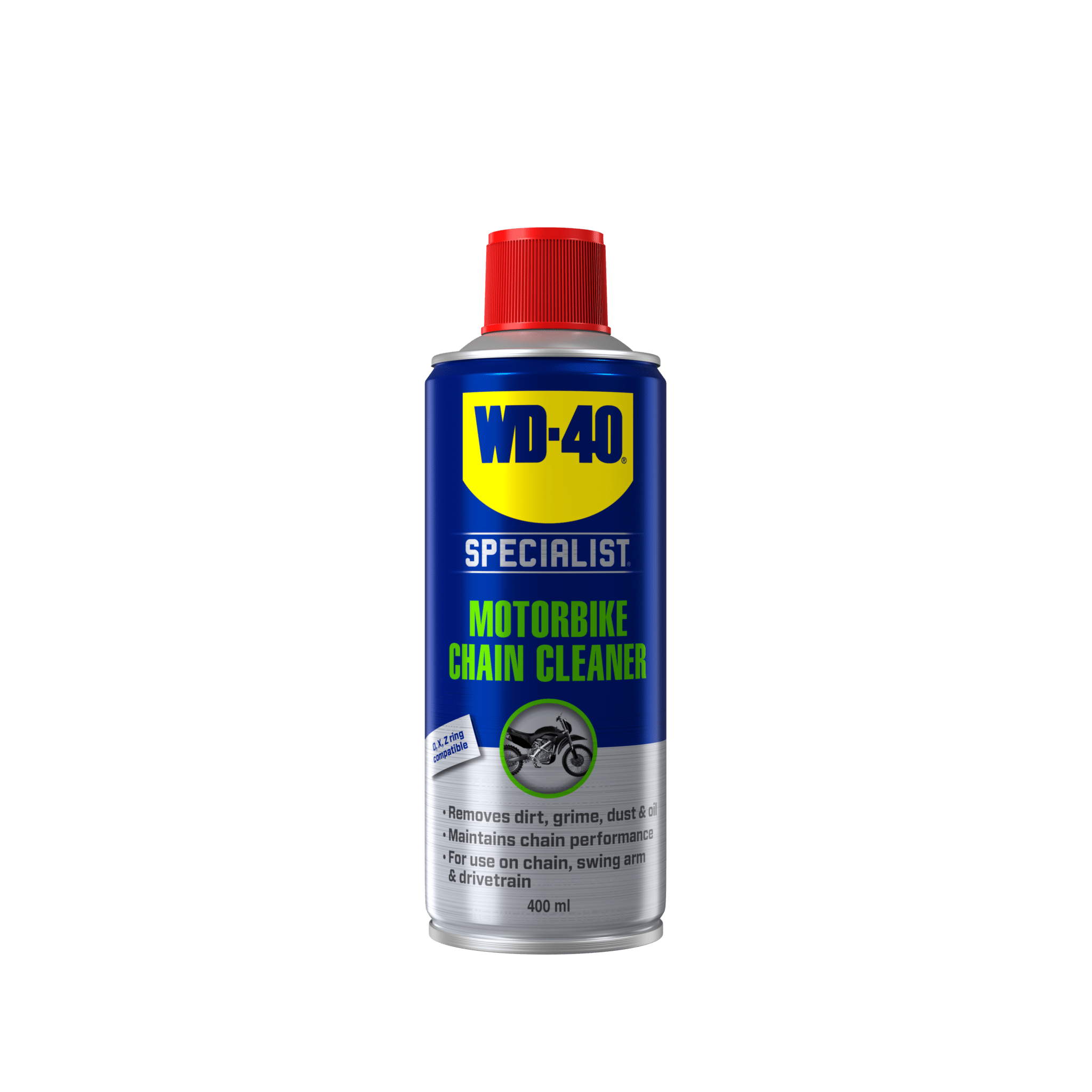 wd 40 specialist motorbike chain cleaner front