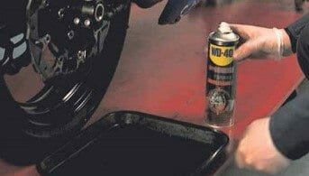 How To Use Specialist Motorbike Brake Cleaner Spray