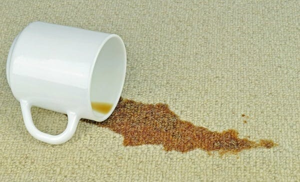 Coffee Stain Removal With WD-40