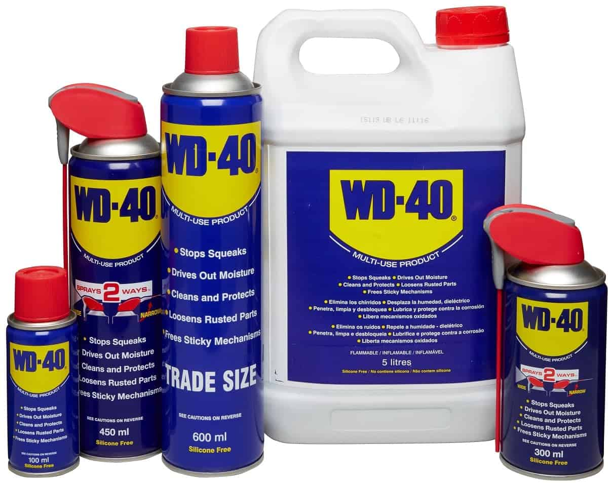 Unusual and handy Uses for WD-40!