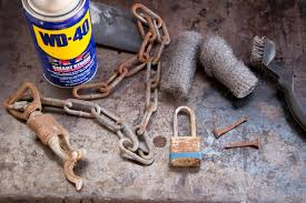 How to Remove Rust using WD-40