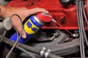 How to Maintain Your Car with WD-40