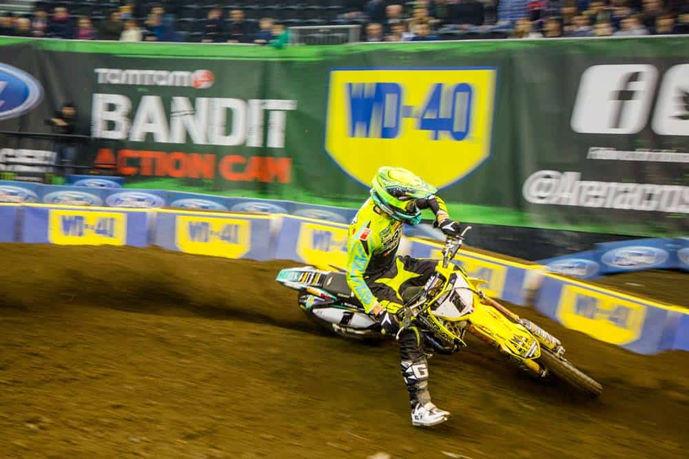 WD-40 JOINS THE ARENACROSS PARTY