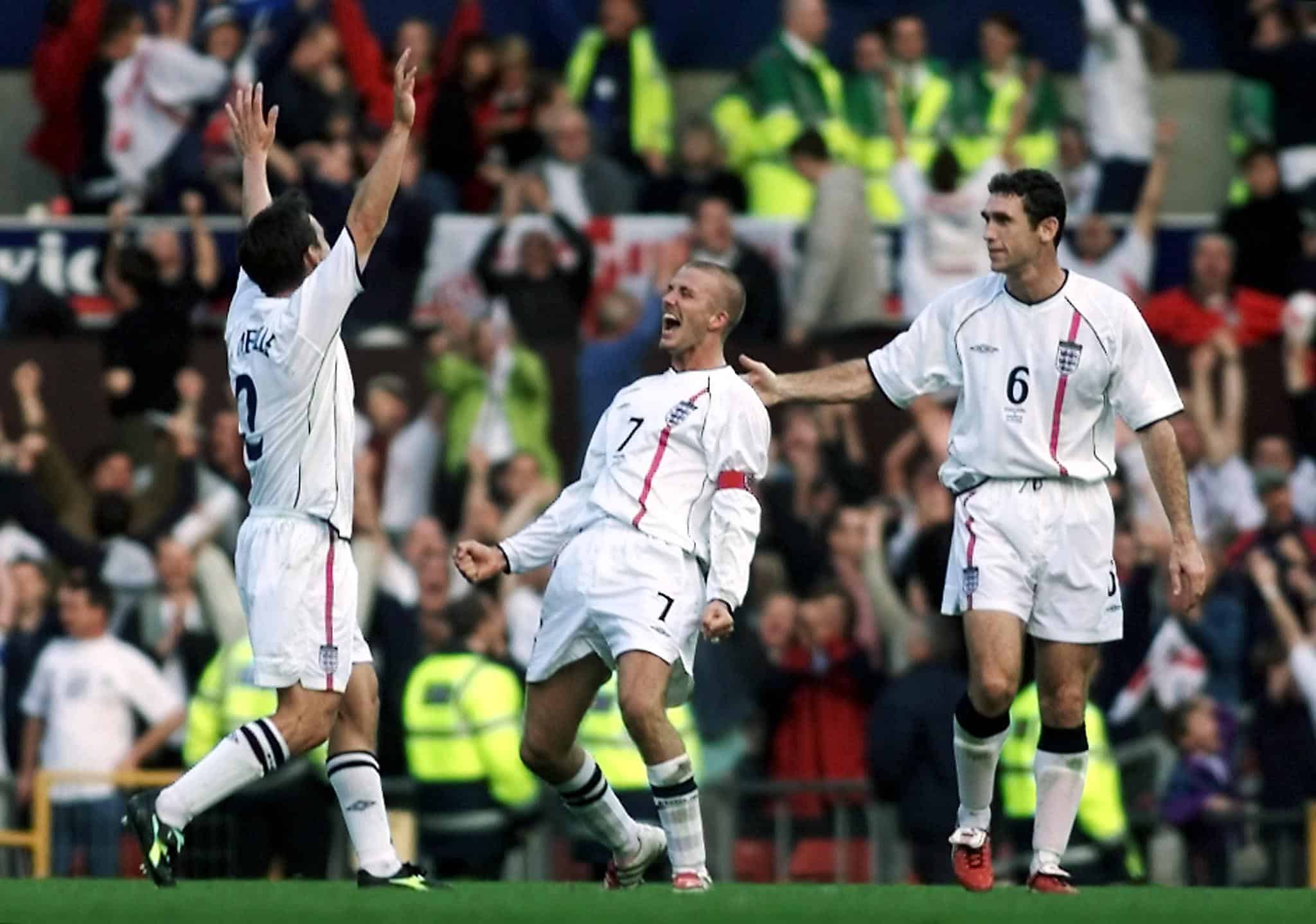 England 2-2 Greece: David Beckham's World Cup redemption