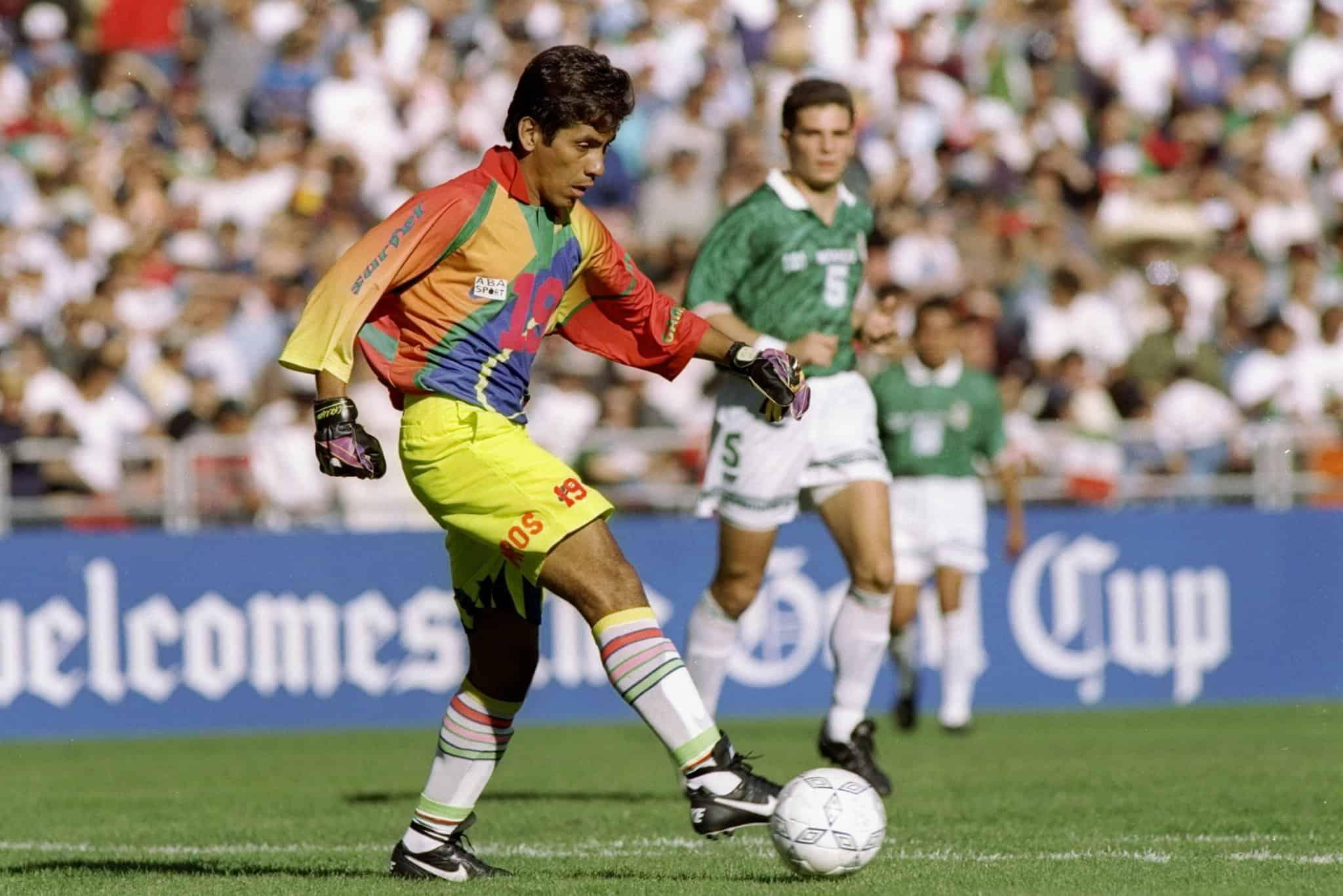 Jorge Campos: Goalkeeper, maverick, kit designer…