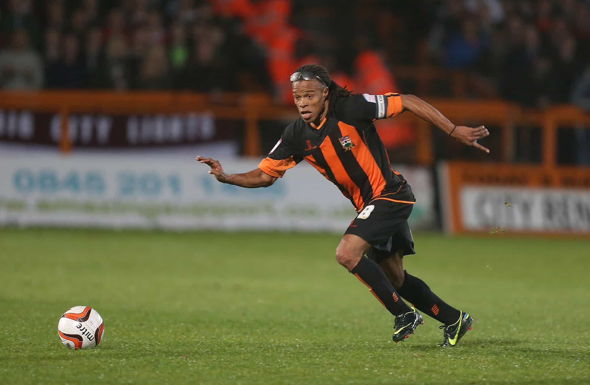 Come in No.1: Remembering Edgar Davids' spell as Barnet player-manager