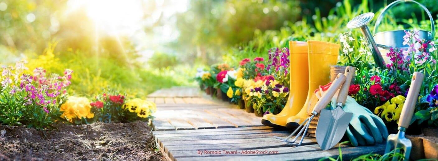 garden tool storage & maintenance